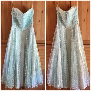 Vintage Roberta California 80s do 50s prom dress